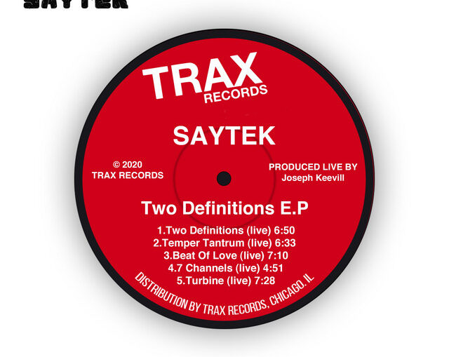 Saytek - Two Definitions (Live @ Trax Records)