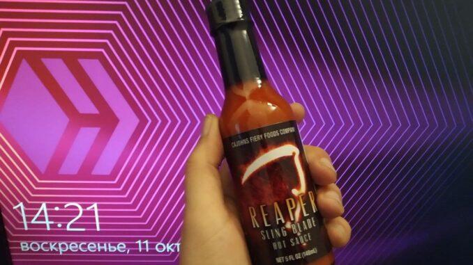 CaJohn's Reaper Sling Blade Hot Sauce
